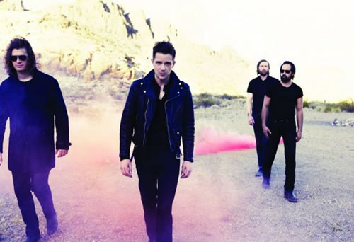 "The Killers en una imatge promocional del seu ""Battle Born""."