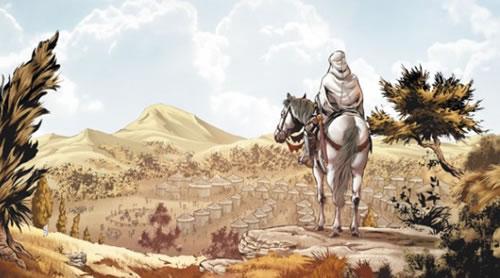 """Vinyeta de """"Assassin's Creed"""", dibuix de Djillali Defali"""