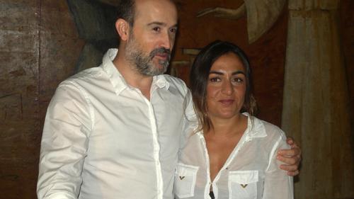 """Ayer no termina nunca"" Isabel Coixet Javier Cámara Candela Peña"