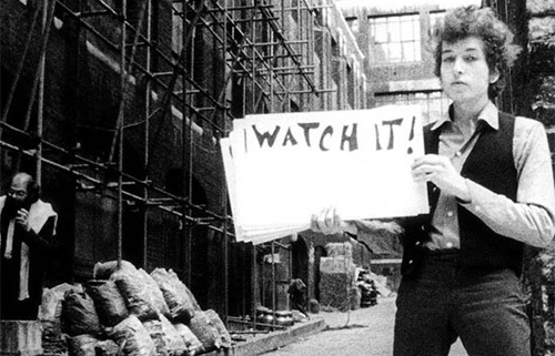 """Bob Dylan a """"Don't Look Back"""""""