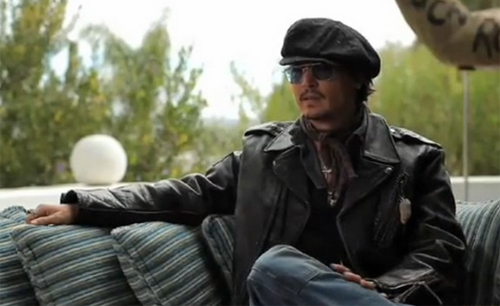 """Johnny Depp, una de les estrelles que ofereix el seu testimoni a """"Sunset Strip"""""""