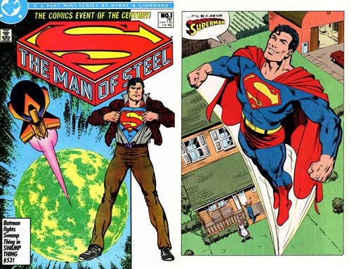 Superman. El hombre de acero, vol. 1. Grandes autores de Superman.