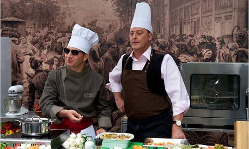 """Michaël Youn i Jean Reno a """"El Chef"""""""