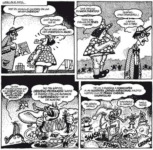 Las mejores historias de Wonder Wart-Hog. El superserdo (1968-1978). Gilbert Shelton. Ediciones La Cúpula.