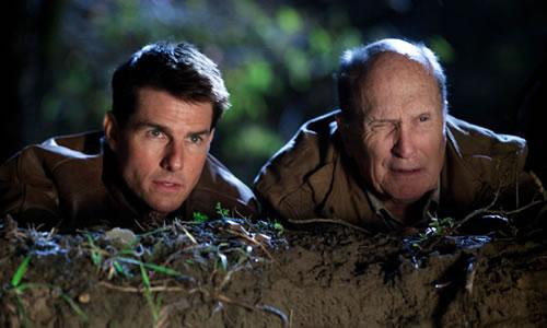 "Tom Cruise i Robert Duvall a ""Jack Reacher""."