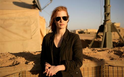 Jessica Chastain, protagonista de 'La noche más oscura'