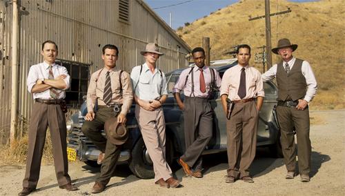 Giovanni Ribisi, Josh Brolin, Ryan Gosling, Anthony Mackei, Michael Peña i Robert Patrick a 'Gang Squad'