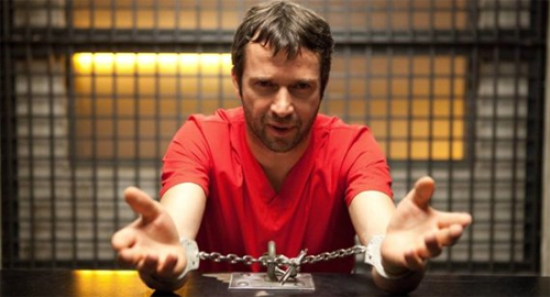 James Purefoy és Joe Carrol a The Following