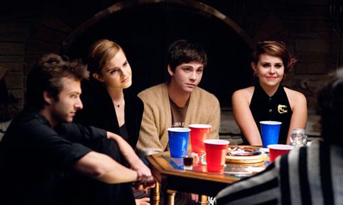 "Nicholas Braun, Emma Watson, Logan Lerman i Mae Whitman a ""Las ventajas de ser un marginado"""