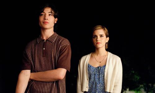 """Ezra Miller i Emma Watson a """"Las ventajas de ser un marginado"""""""