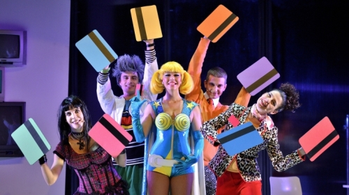 La dona vinguda del futur Teatre Nacional de Catalunya