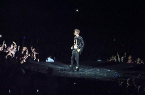 Justin Bieber al Palau Sant Jordi. Barcelona.