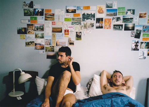 "Tom Cullen i Chris New a ""Weekend""."