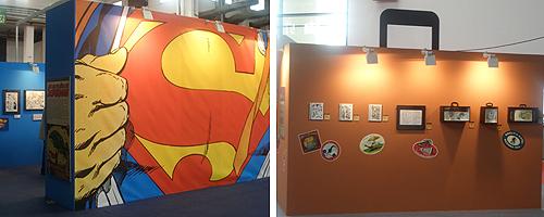 Exposicions Superman - Viatges