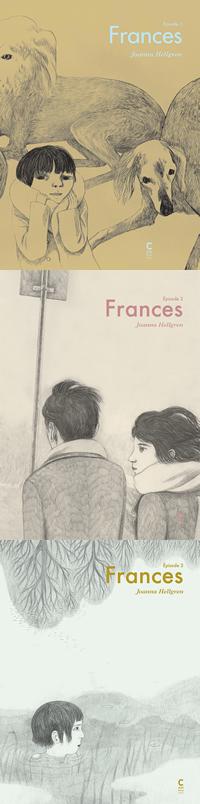 """Portades original de """"Frances"""", de Joanna Hellgren."""