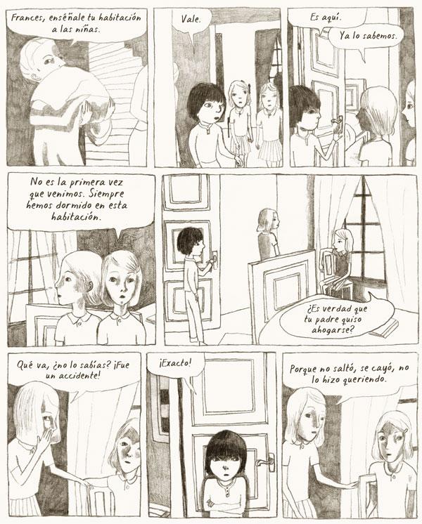 """Vinyetes de """"Frances"""" de Joanna Hellgren."""