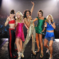 "Les Spice Girls a ""Return of The Spice Girls Tour"""