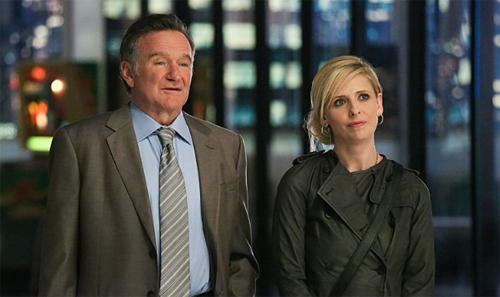 "Robin Williams i Sarah Michelle Gellar a ""Crazy Ones"""