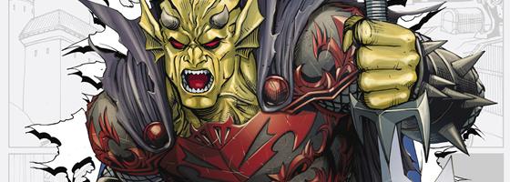 """Imatge de portada de """"Demon Knights 0"""""""