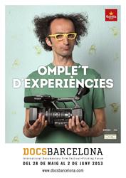 Cartell del DocsBarcelona 2013
