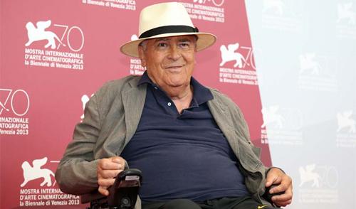 Bernardo Bertolucci en la seva cadira a Venecia