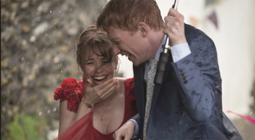 "Rachel McAdams i Domhnall Gleeson formen parella a ""About time"""