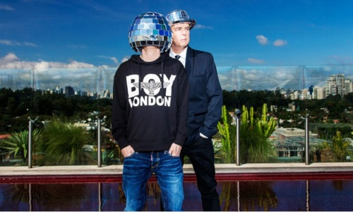 "Pet Shop Boys. Imatge promocional de ""Electric"""