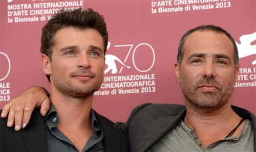 Tom Welling i Peter Landsman, protagonista i director de 'Parkland' a Venècia