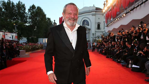 Terry Gilliam presentant 'The Zero Theorem' a Venècia
