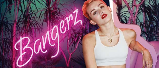 """Imatge promocional de """"Bargerz"""" de Miley Cirus."""