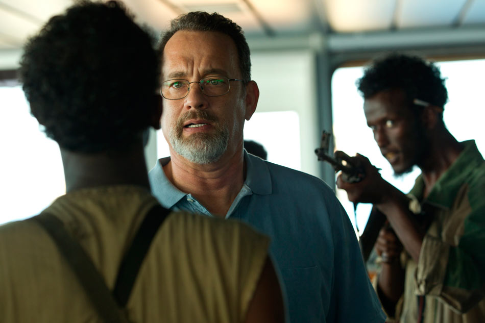 "Tom Hanks a ""Capitan Phillips"""