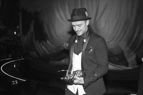 Justin Timberlake als premis WMA 2013.