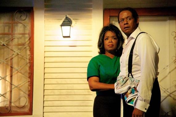 """Oprah Winfrey i Forest Whitaker a """"El Mayordomo"""" de Lee Daniels."""