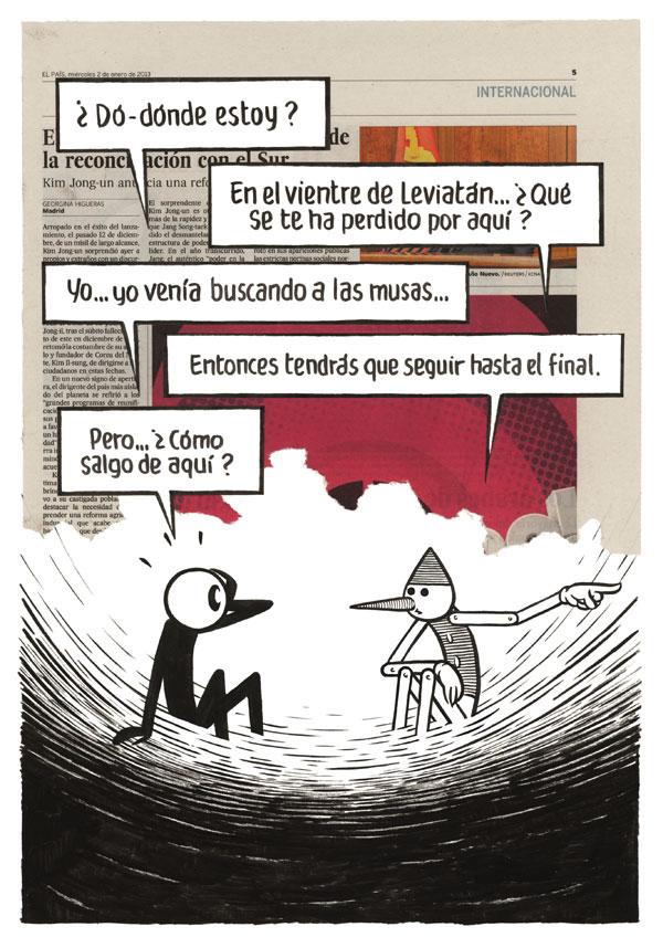 """Vinyeta de """"Paseo Astral"""" de Max."""