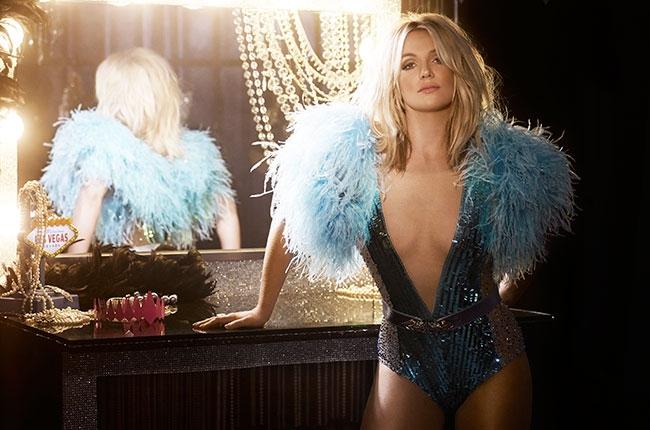 "Imatge promocional del senzill ""Work Bitch"" de Britney Spears."