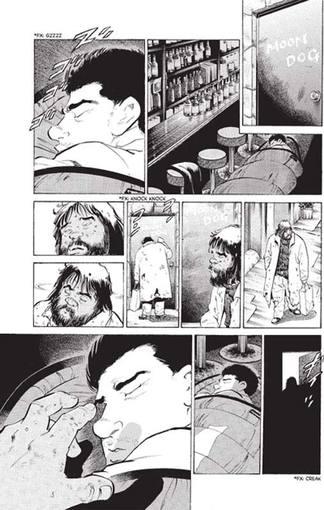 """Vinyetes de """"Oldboy"""" de Garon Tsuchiya i Nobuaki Minegishi."""
