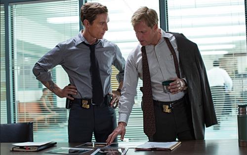 "Woody Harrelson i Mathew McConaughey a ""True Detective"""