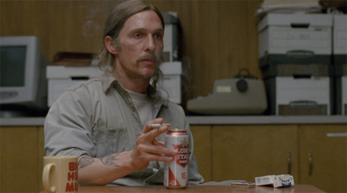 "Mathew McConaughey a ""True Detective"""