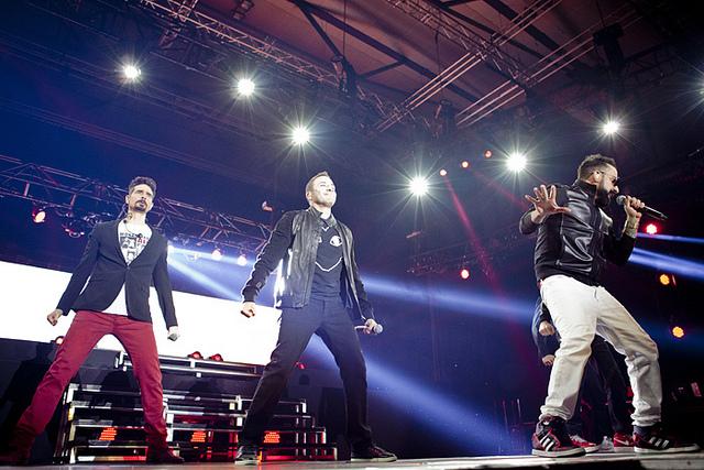 Crónica del concert dels Backstreet Boys a Barcelona. Foto: Rosario López.