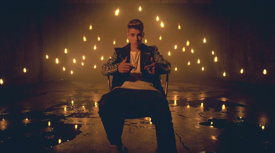 """Imatge del videoclip """"Confident"""", un dels temes de """"Journals"""" de Justin Bieber."""