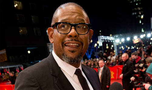 "Forest Whitaker a la presentació de ""La voie de l'ennemi"" (Two Men in Town)"