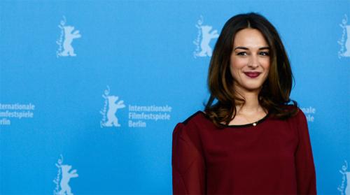 """L'actriu Vicky Papadopoulou, una de les encarregades de presentar """"Stratos"""" a la Berlinale"""