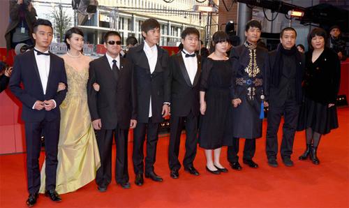 """Lou Ye i l'equip de """"Blind Massage"""" a la catifa vermella de la Berlinale"""