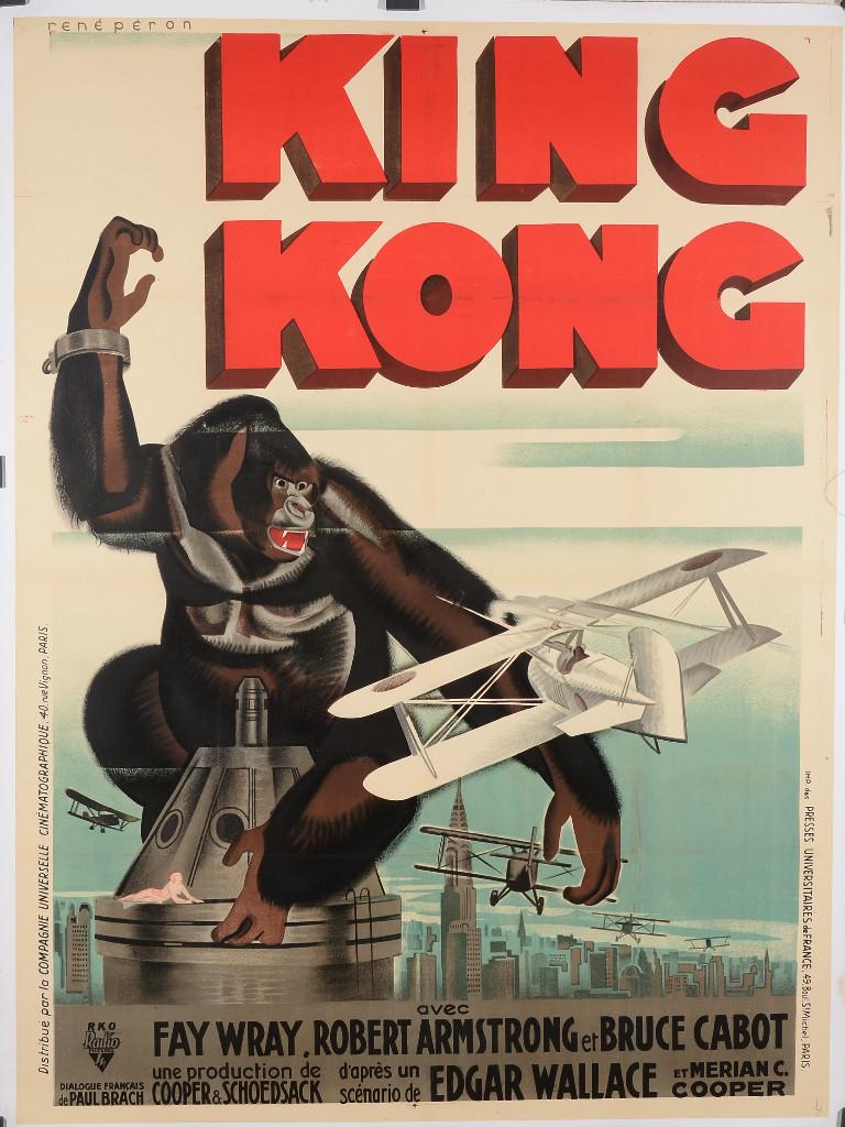 King Kong, amor impossible entre una bèstia i una dona