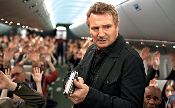 """Liam Neeson a """"Non-stop (Sin escalas)"""""""
