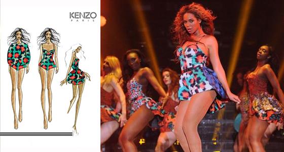 Beyoncé by Kenzo