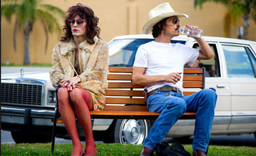 "Jared Leto i Matthew McConaughey a ""Dallas Buyers Club"""