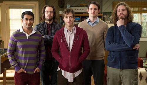 Els protagonistes de Silicon Valley