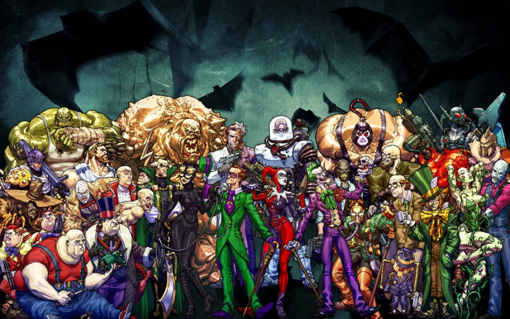 Los villanos de Batman