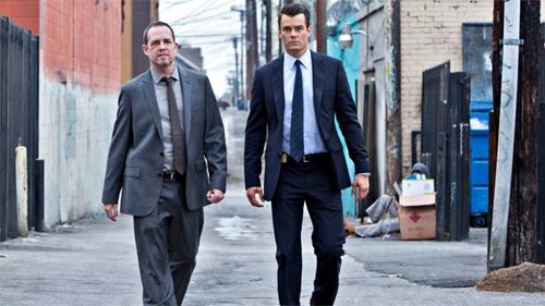 "Dean Winters i Josh Duhamel, protagonistes de ""Battle Creek"""""